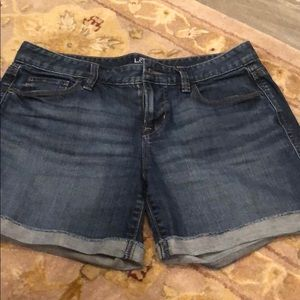 Loft denim short